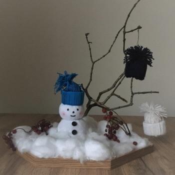 05-018-Подолян Артем. А сніговичок уже чекає…